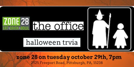 The Office Halloween Episodes Trivia at Zone 28 tickets