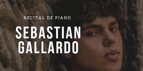 Sebastian Gallardo - Liszt , Beethoven, Chopin, Rachmaninoff, Mozart, Advis entradas