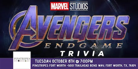 Avengers:Endgame Trivia at Pinstripes Fort Worth tickets
