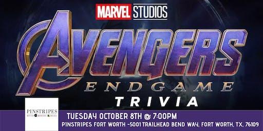 Avengers:Endgame Trivia at Pinstripes Fort Worth