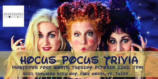 Hocus Pocus Trivia at Pinstripes Fort Worth