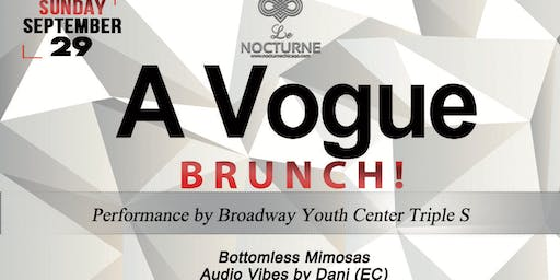 A VOGUE BRUNCH @ Le Nocturne Chicago! (An Inclusive Event)