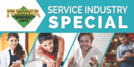FREE Service Industry SpecialWeston/Davie(FREE Martial Arts Classes) tickets