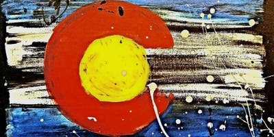 Paint Wine Denver CO Splattered Flag Fri Nov 1st 6:30pm $35