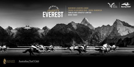 Everest Spring Carnival Business Leaders Lunch 2019  tickets