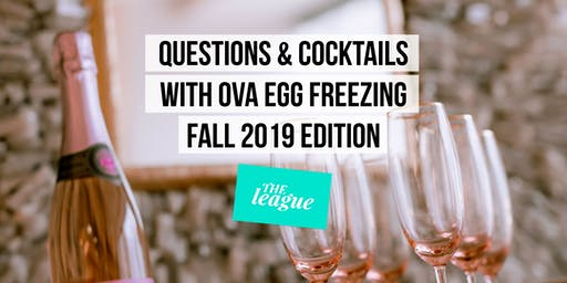QUESTIONS & COCKTAILS WITH OVA, Fall Edition