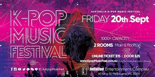 2019 Melbourne K-Pop Music Festival Friday 20th Sept