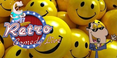 Retro Comedy Live Episode 4 tickets