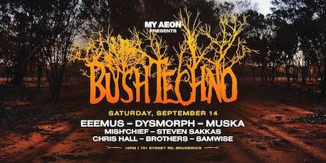 Bush Techno 4.0 tickets