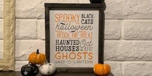 Tattered and Chalked - Spooky Halloween