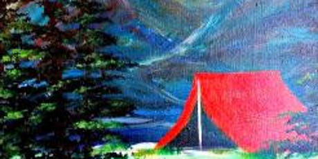 Paint Wine Denver Let's Go Camping Wed Oct 16th 6:30pm $35 tickets