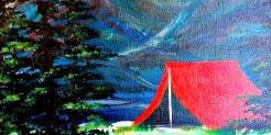 Paint Wine Denver Let's Go Camping Wed Oct 16th 6:30pm $35