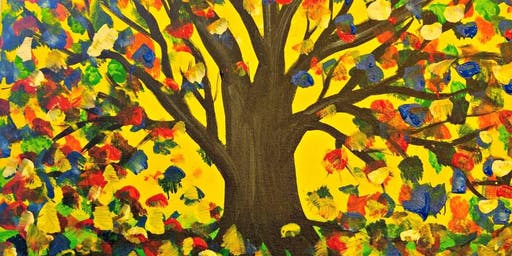Paint Wine Denver Tree of Life Wed Oct 23rd 6:30pm $35