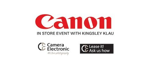 Canon Exclusive Event