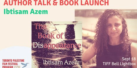 Author Talk and Book Launch - Ibtisam Azem tickets