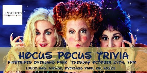 Hocus Pocus Trivia at Pinstripes Overland Park