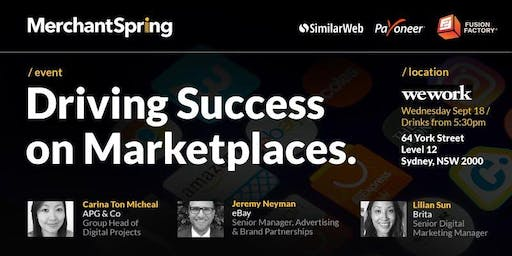 Driving Success on Marketplaces - Sydney