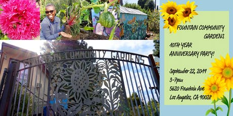 Fountain Community Gardens 10th Anniversary Party! tickets