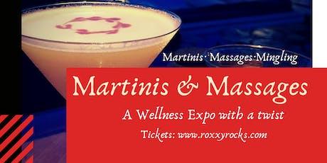 Martinis & Massages tickets