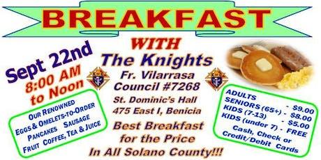 Sunday Breakfast tickets