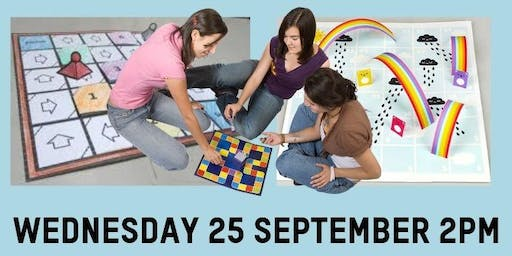 Boredom busters @ Leongatha Library -  Make your own Board games