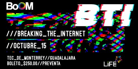 Congreso BoOM: Breaking the internet entradas