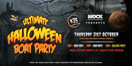 Halloween Boat Party - 2019 tickets