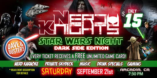 Star Wars Night & Karaoke Party at Dave & Buster's