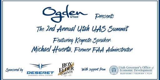 2019 Utah UAS Summit with Michael Huerta, a Mountain West AUVSI Chapter Event