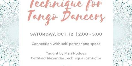 Connection - Alexander Technique for Tango Dancers tickets