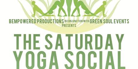 Saturday Yoga Social tickets