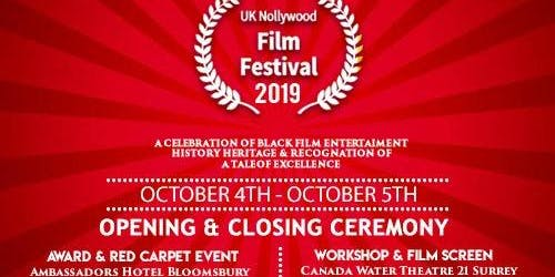 UK NOLLYWOOD FILM FESTIVAL CLOSING CEREMONY