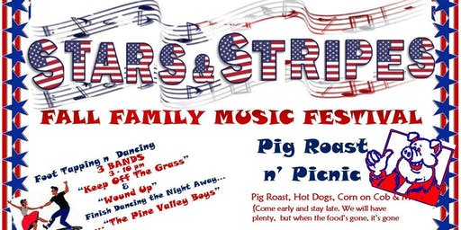 Fall Family Music Festival & Pig Roast