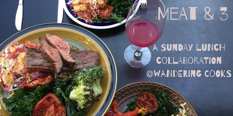 Meat & 3 Argentinian fire-roasted lunch collaboration at Wandering Cooks tickets