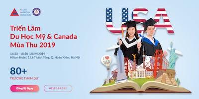 [Hà Nội] Triển Lãm Du Học Mỹ & Canada Mùa Thu 2019
