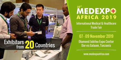 22nd Medexpo Tanzania 2019 tickets