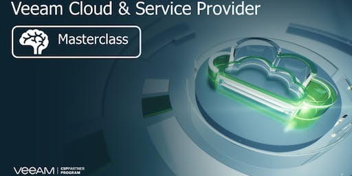 Veeam Cloud & Service Provider - Technical Masterclass - Auckland