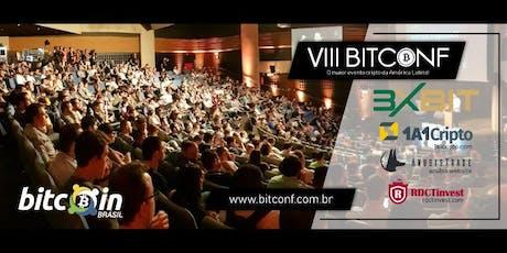 VIII BITCONF Conferência brasileira sobre Bitcoin e criptomoedas ingressos