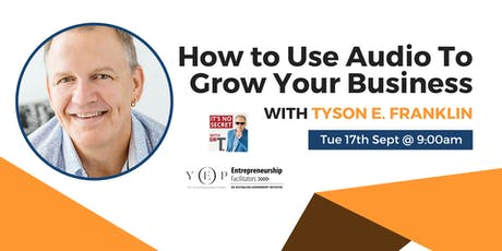 How to Use Audio to Grow Your Business tickets