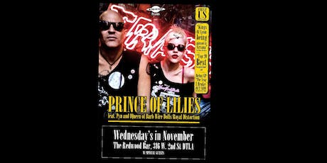 In Fuzz We Trust Presents Prince Of Lilies November 6th at The Redwood  Bar tickets