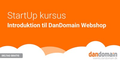 Webshop StartUp kursus (online)