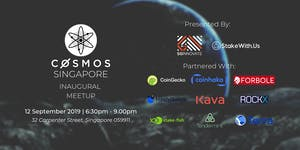 Cosmos Singapore Inaugural Meetup