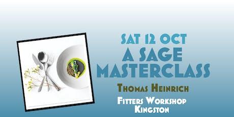 Springfest: A Sage Masterclass with Thomas Heinrich tickets