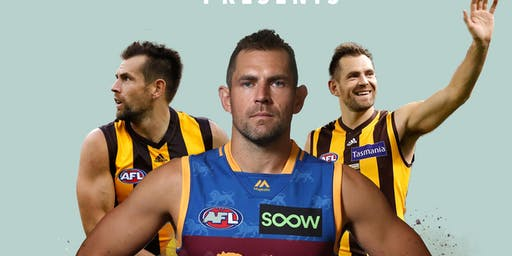 LUKE HODGE & GLEN JAKOVICH (MC) at Millennium Sports Bar