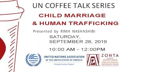 UN COFFEE TALK  tickets