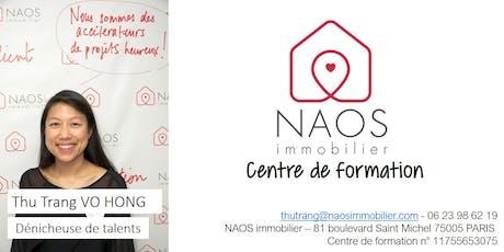 NAOS formation : Parrainez et boostez vos revenus récurrents billets