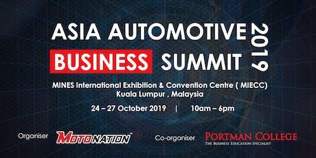 Asia Automotive Business Summit 2019 tickets