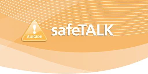 LivingWorks safeTALK. Suicide Alertness for Everyone.