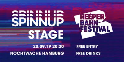 Spinnup Stage at Reeperbahn Festival 2019