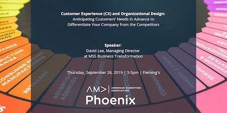 Customer Experience (CX) and Organizational Design: Anticipating Customers' Needs in Advance to Differentiate Your Company from the Competitors tickets